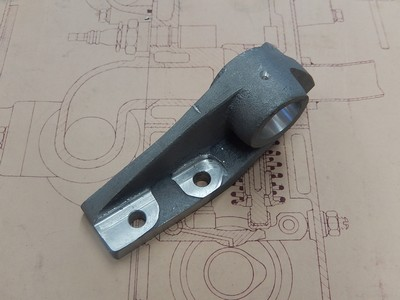 Pedal Shaft Mounting Bracket RH - Brescia